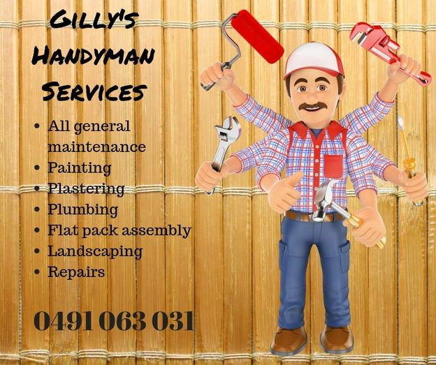 Gilly's Handyman Services – Eaglehawk VIC – Read Reviews